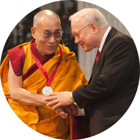 The Dalai Lama at the Templeton Prize Ceremony
