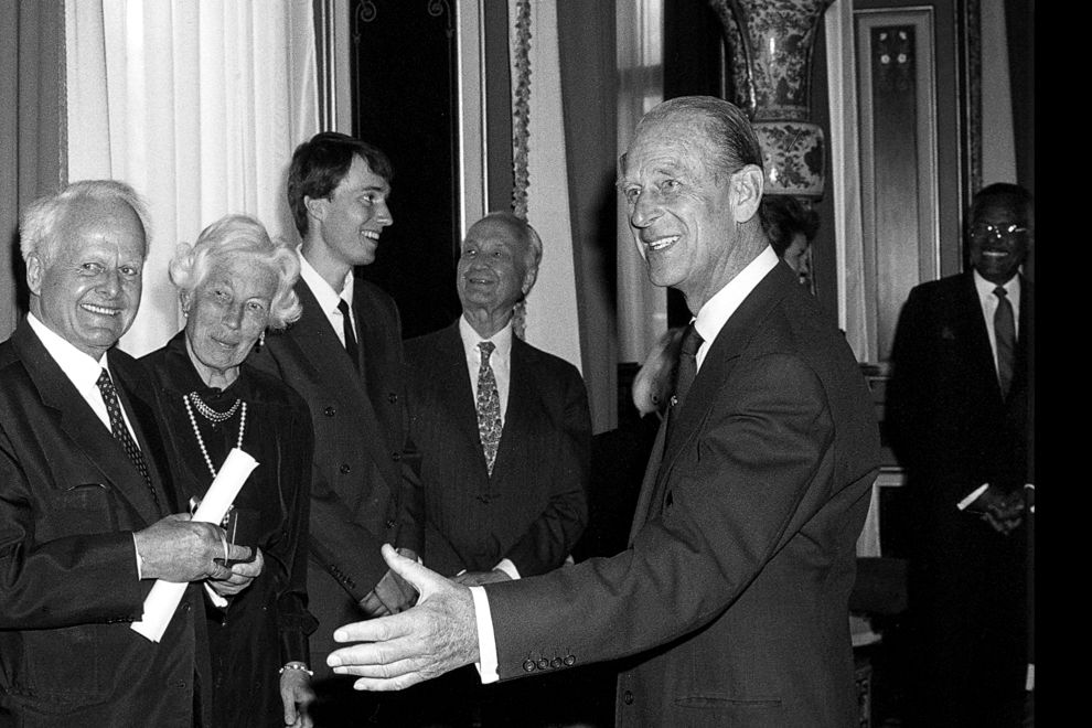 Prince Philip at the Templeton Prize Ceremony