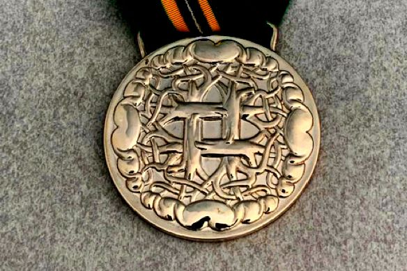 The Templeton Prize award medal