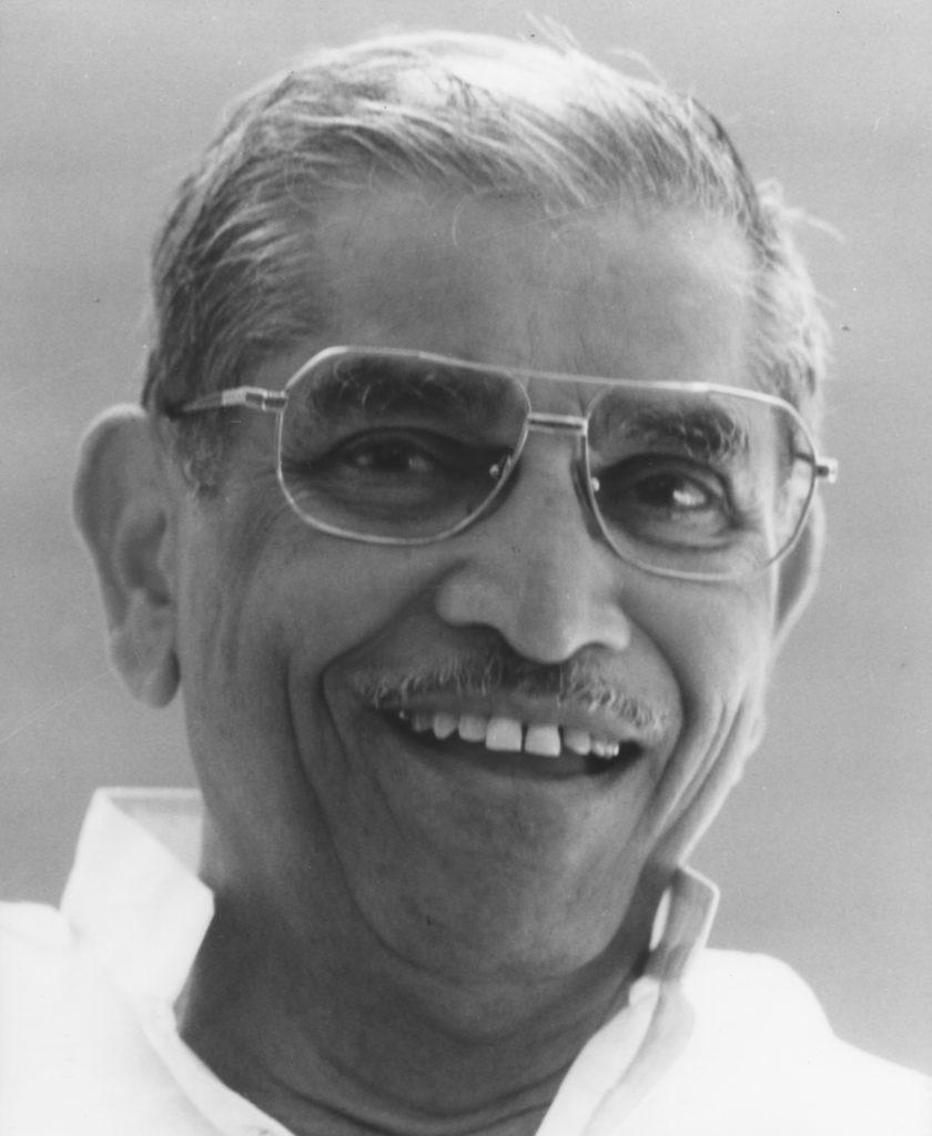 Pandurang Shastri Athavale 1997 Laureate of Templeton Prize Headshot