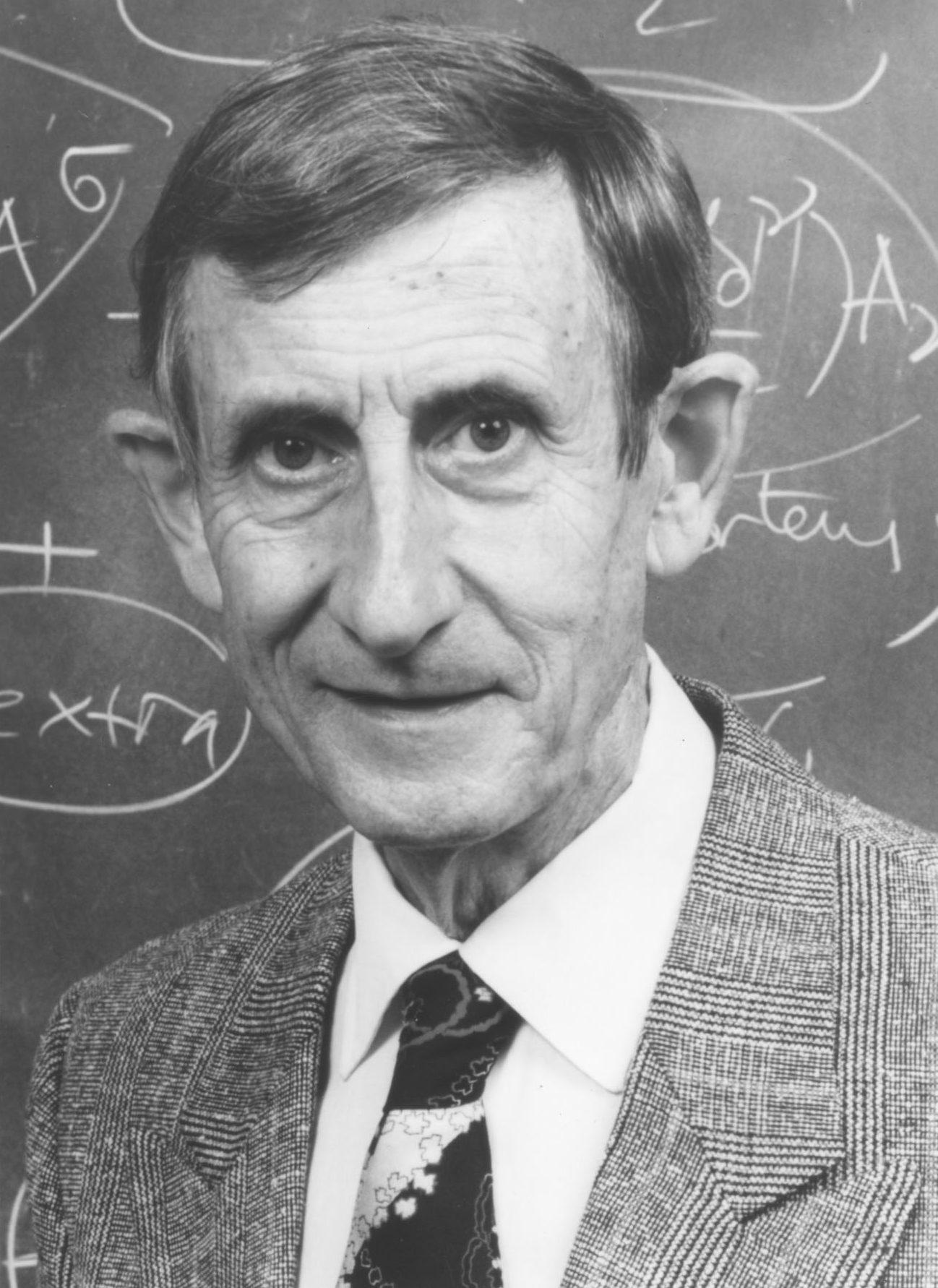 Freeman J. Dyson 2000 Laureate of Templeton Prize Headshot