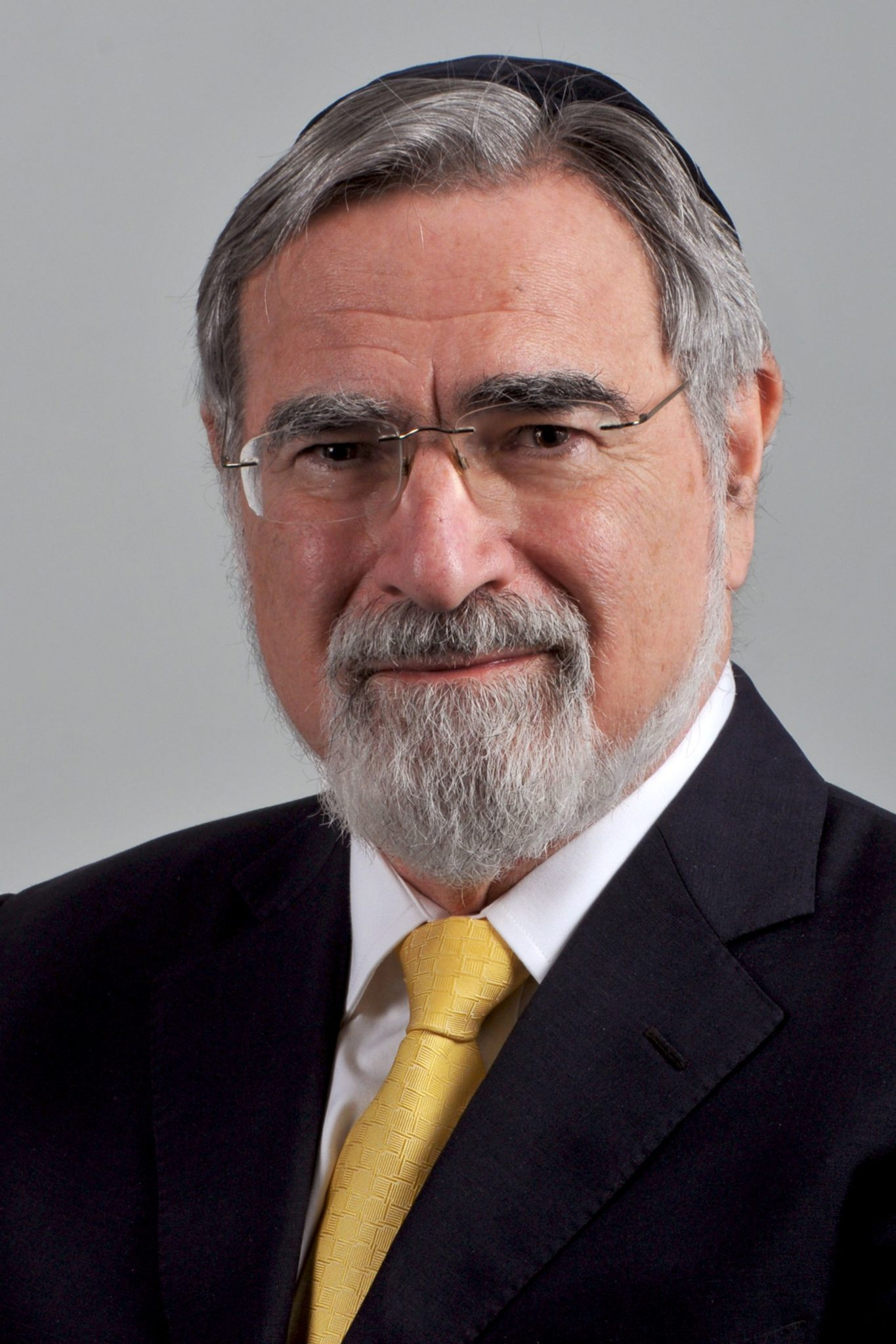 Rabbi Lord Jonathan Sacks 2016 Laureate of Templeton Prize Headshot